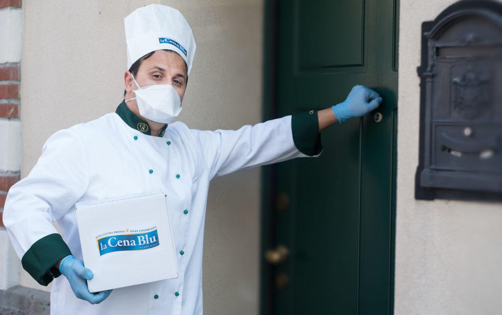 Consegnamo le nostre ricette pronte in 2 minuti a casa tua rispettando le norme di sicurezza