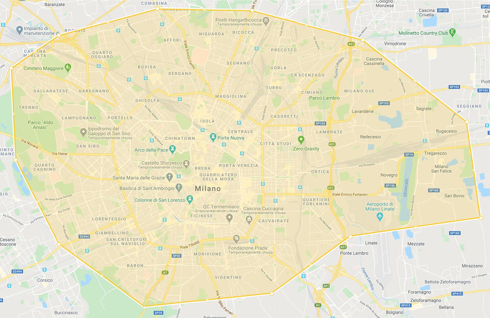 Consegnamo l'alta cucina a bassa temperatura in tutta Milano ed hinterland
