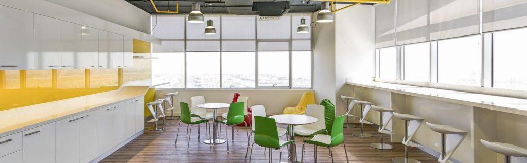 Area ristoro per dipendenti e collaboratori dell'azienda